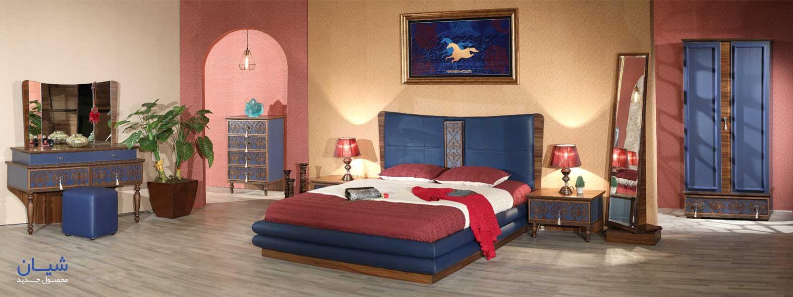 تخت خواب دو نفره شیان
