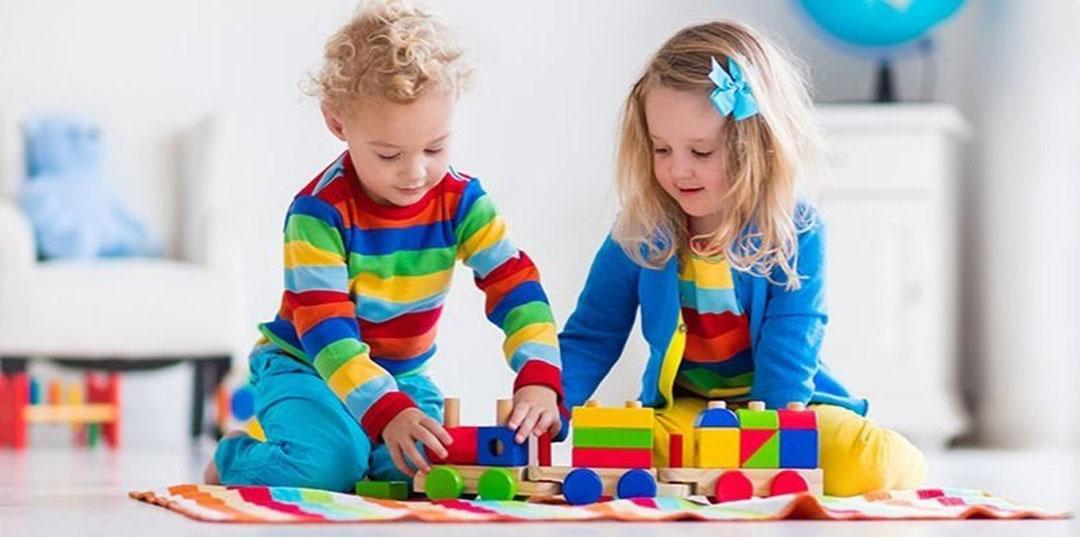 بچه ها پیوند های ما با دنیای رنگ