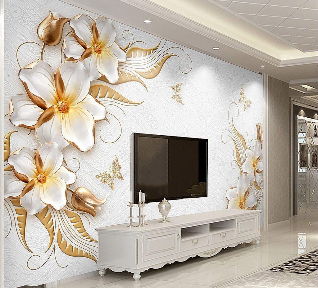 کاغذ دیواری های مناسب برای دکوراسیون داخلی منزل کاغذ دیواری 3